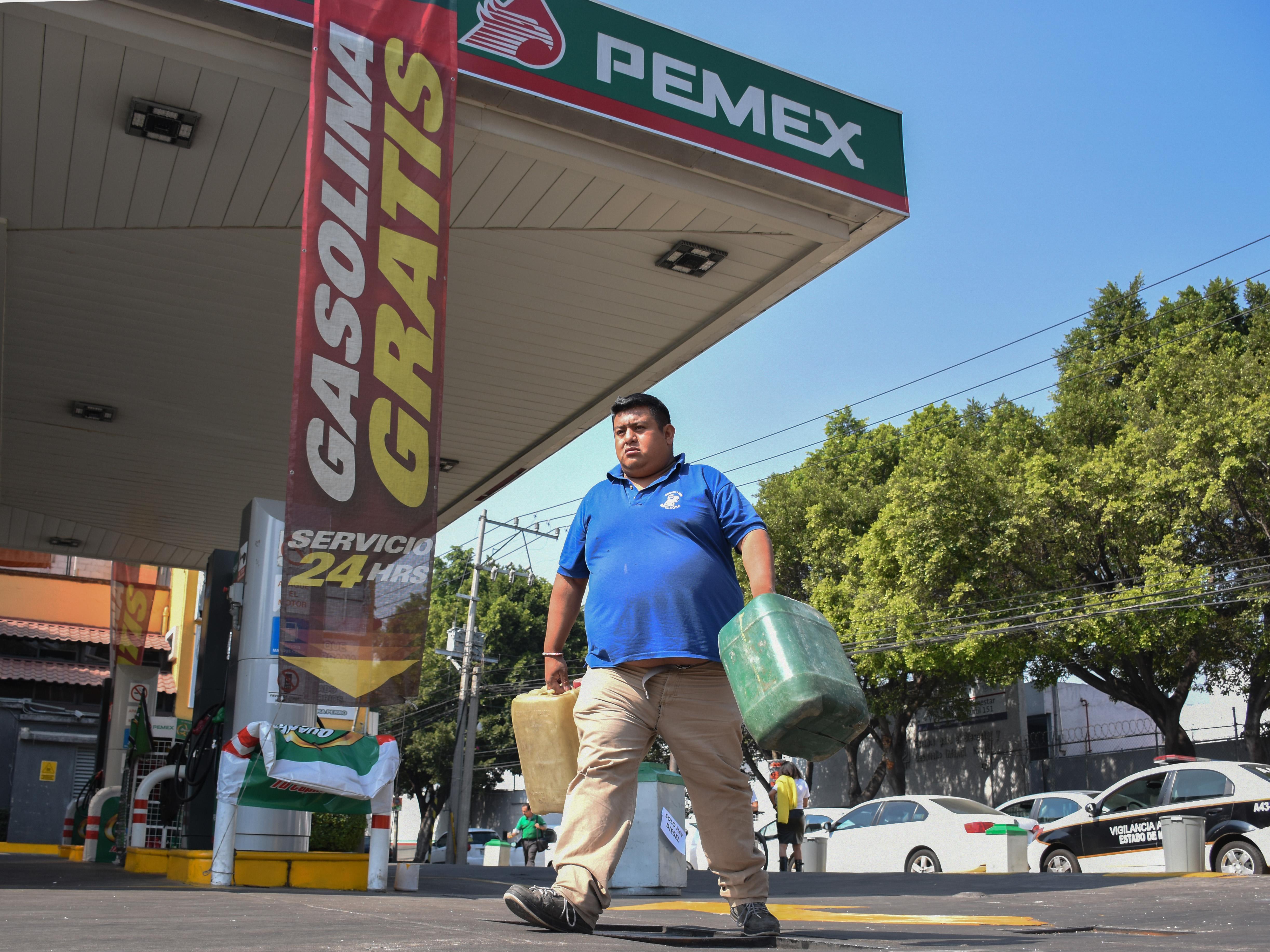 Continúa el desabasto de gasolina en la CDMX