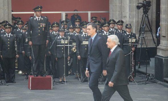AMLO y Pedro Sánchez sostuvieron una plática en la cual trataron el tema de Venezuela