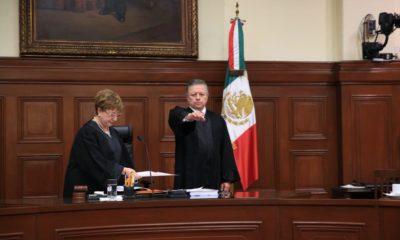 Ministro Arturo Zaldívar toma posesión del cargo de presidente de la SCJN