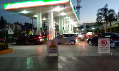 pánico gasolina