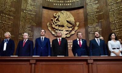 Este día se celebró el 102 aniversario de la carta magna de México