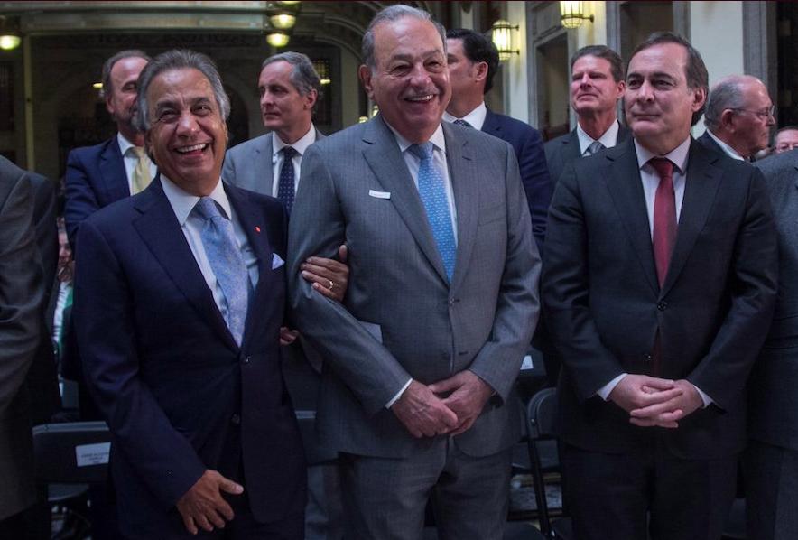 Slim apoya a AMLO en crítica a órganos autónomos y situación de Pemex