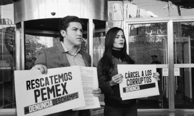 Deschamps, Romero, Denuncia, Pemex, Diputados, Sindicato, Romero Deschamps, Ladrón, Corrupto, Senadores, Nuevo León, Jalisco,