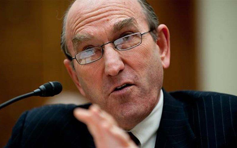 Elliott Abrams, representante de Estados Unidos en el Consejo de Seguridad de la ONU