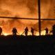 Incendio en pastizales de la alcaldía de Xochimilco