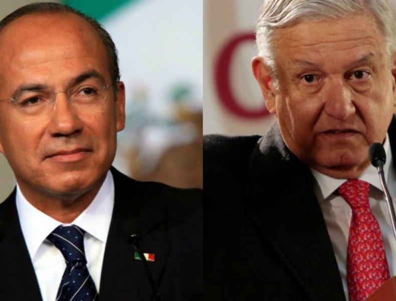 López Obrador, Calderón