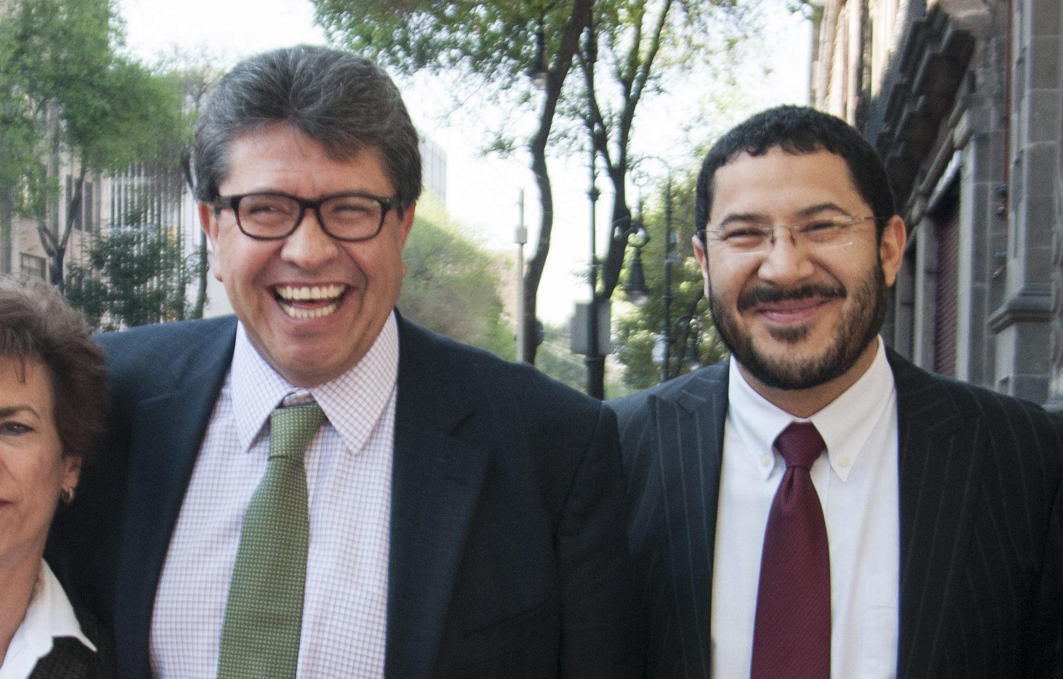 Ricardo Monreal y Martí Batres han sido cercanos desde hace algunos años. Hace pocos días se rumoró que se habían distanciado por la Guardia Nacional.