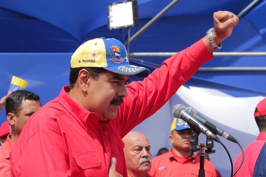Nicolás Maduro se pronunció este día a favor de adelantar las elecciones parlamentarias en Venezuela