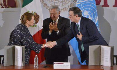 AMLO, Andrés Manuel, López Obrador, ONU, Corrupción, México Marcelo Ebrard, Relaciones Exteriores, Flotilla presidencial, aviones,