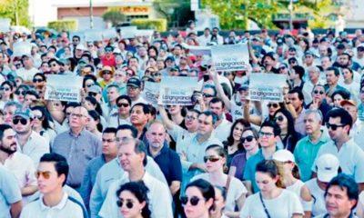 Coatzacoalcos, Marcha, Mitin, Protesta, Violencia, AMLO, Esposa, Alcalde, Maleducados, Inseguridad, Estrategia,