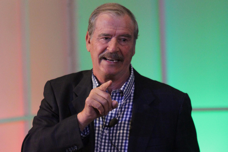 Vicente Fox ha estado pendiente de los dichos de AMLO en sus conferencias