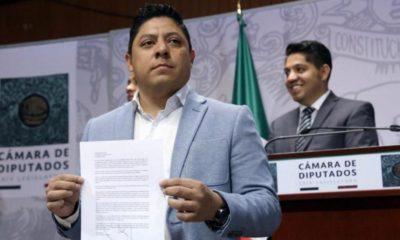 Renuncia, Ricardo, Gallardo, Ricardo Gallardo, PRD, Diputados, Cámara, Legisladores, AMLO, Morena,