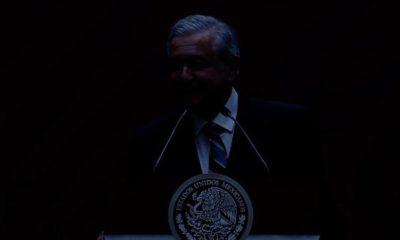 AMLO, Andrés Manuel, López Obrador, Apagón, Conferencia, Mañanera, MAtutina, Sin Luz, Oscuras, Complot,