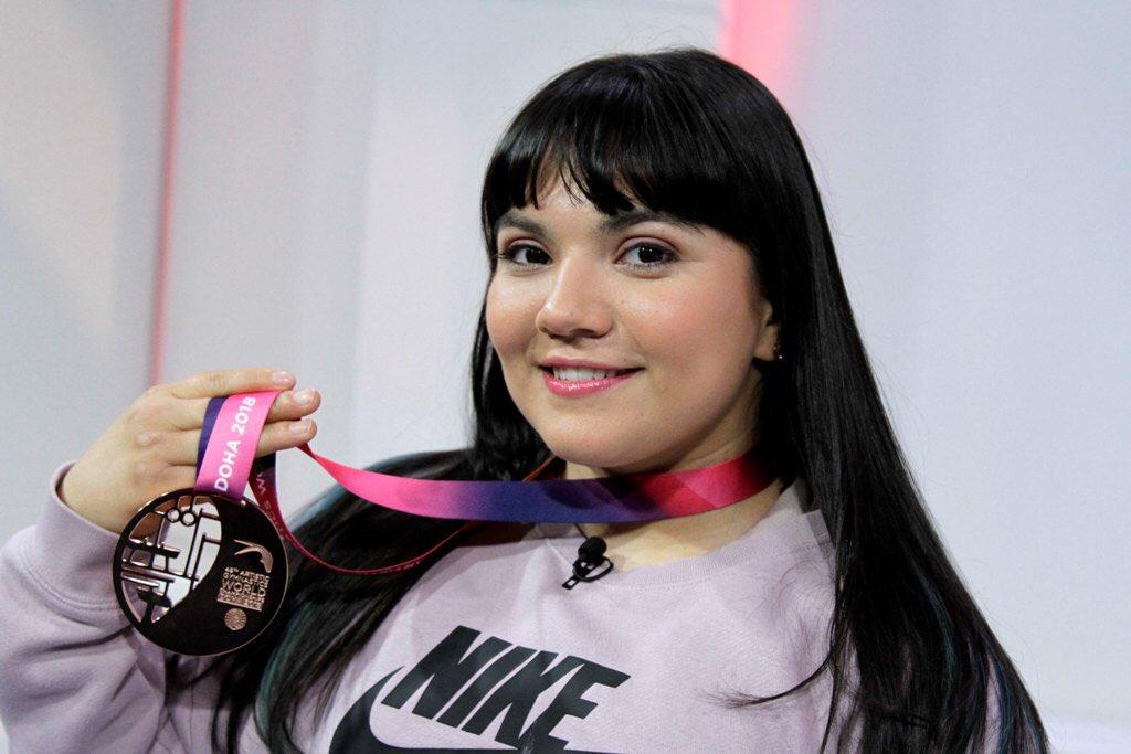 Alexa Moreno, gimnasta, Doha, Copa del Mundo, salto de caballo,