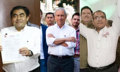Puebla campañas Barbosa, Cárdenas y Jiménez
