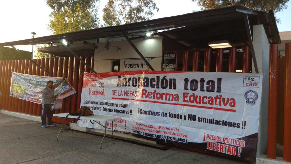 CNTE Cámara de Diputados Reforma Educativa
