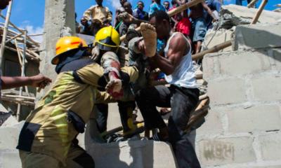 Más de 100 niños atrapados tras derrumbe de escuela en Nigeria