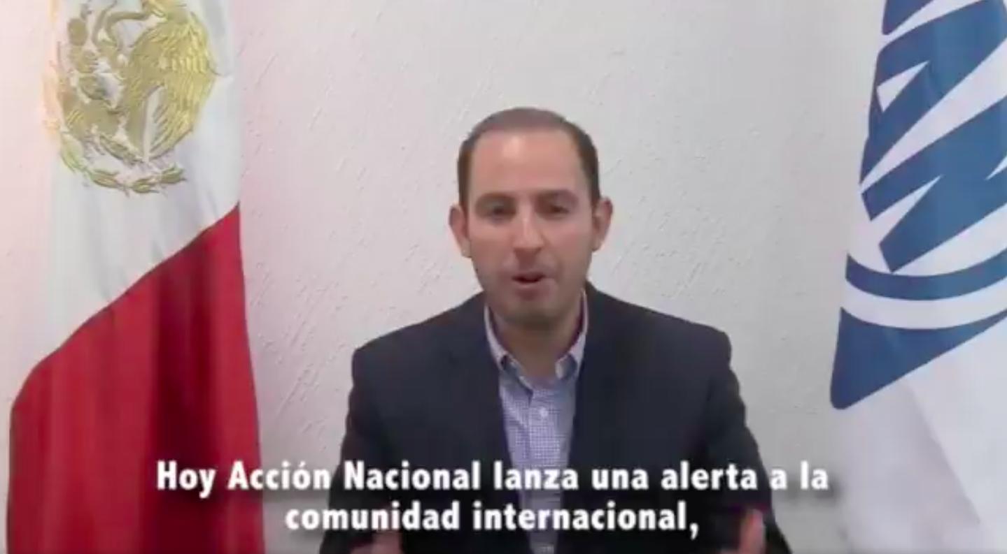 Marko Cortés, PAN, MORENA, Andrés Manuel, López Obrador, AMLO, reelección, Consulta ciudadana, Revocación, mandato, presidente, Venezuela,