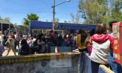 Desalojan a estudiantes de la FES Cuautitlán tras amenaza de bomba