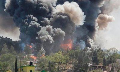 Explosión, Polvora, Polvorín, Chimalhuacán, Cuetes, cohetes, Pirotecnia,