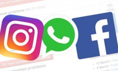 Facebook caída WhatsApp Instagram