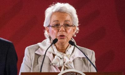 Caravana Madre migrantes Olga Sánchez Cordero