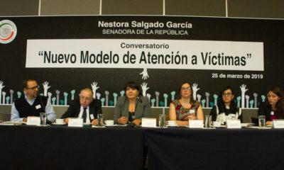 Nestora Salgado solicita nuevo modelo de atención a víctimas