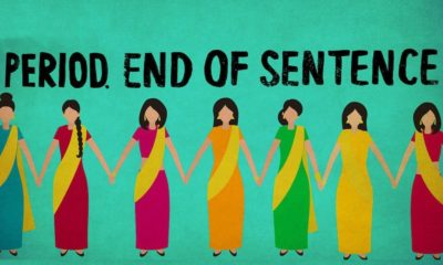 Period end of sentence corto India menstruación