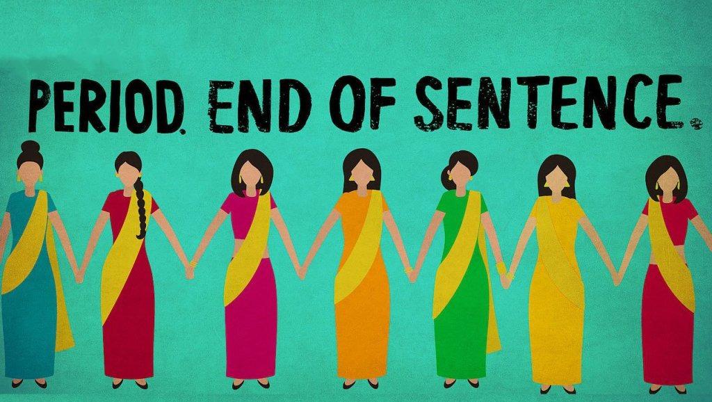 Period end of sentence corto India menstruación