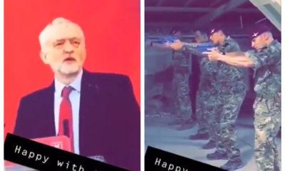 Jeremy Corbyn soldados británicos Brexit Reino Unido