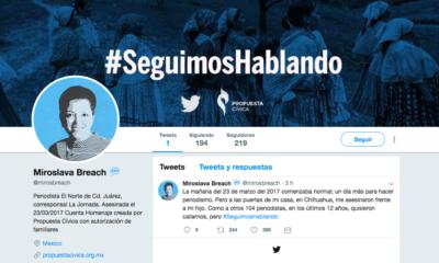 #SeguimosHablando, Twitter, Periodistas, Asesinados, Muertos, México,