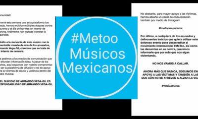 METOO, #Metoo, Músicos, Mexicanos, Armando Vega Gil, URSS Bajo el Árbol,