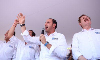 Marko Cortés ola azul PAN elecciones