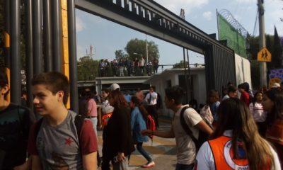 Prepa 6 UNAM Coyoacán encapuchados