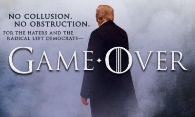 """Trump celebra """"fin de la partida"""" del 'Rusiagate'"""