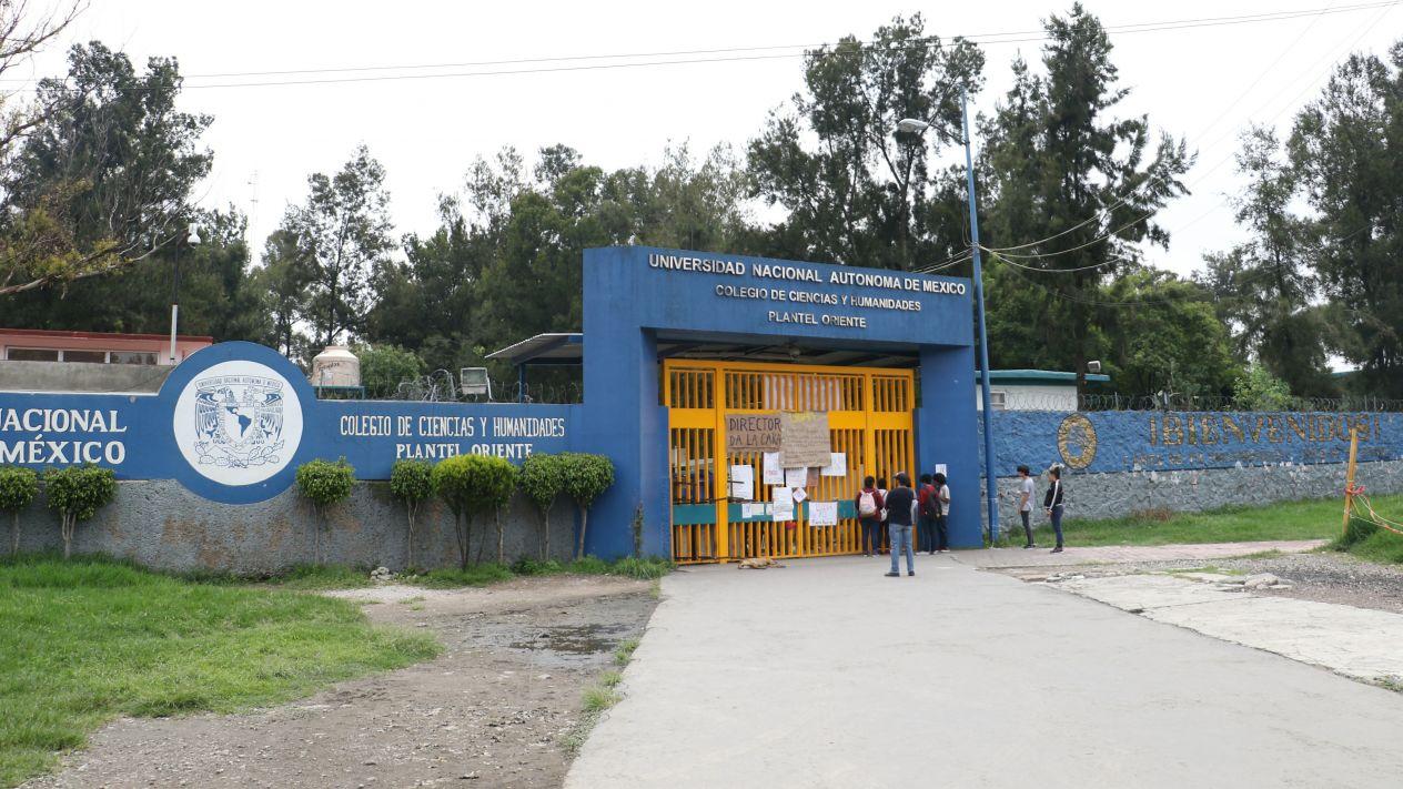 CCH Oriente, CCH, UNAM, Alumnos, seguridad, Claudia Sheinbaum, Gobierno,