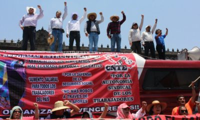 CNTE-Chiapas amaga con irse a paro indefinido