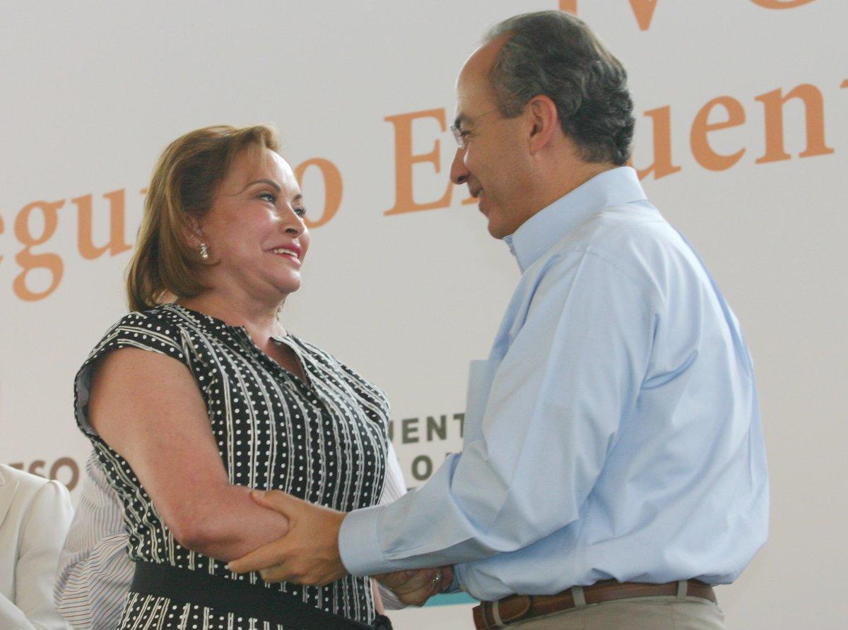 Calderon, ELba Esther, México, AMLO