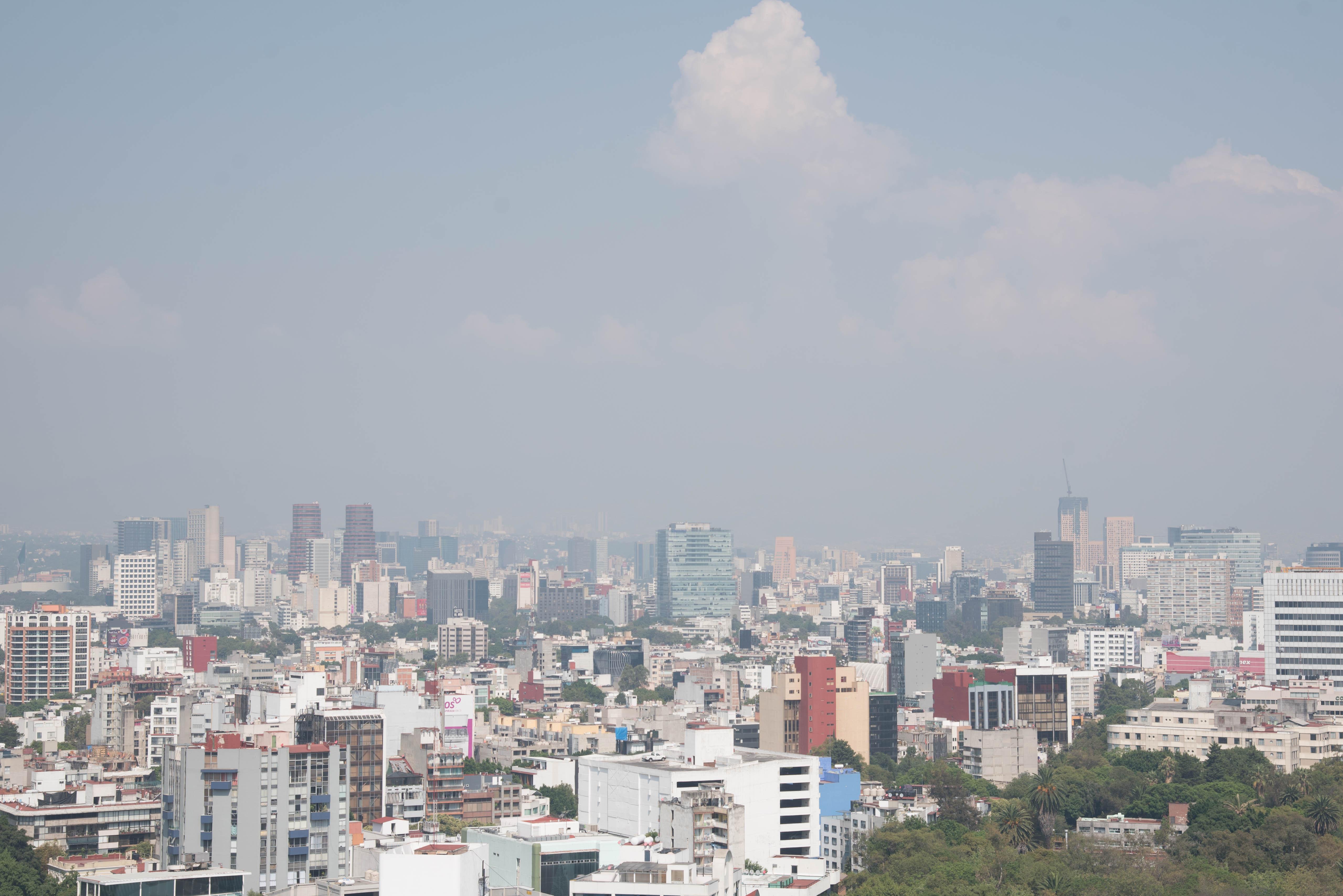 Calidad del aire aún en regular/ La Hoguera