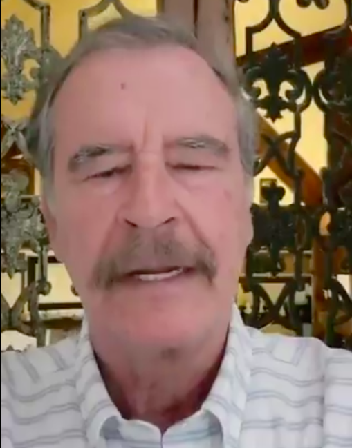 """Vicente Fox critica inversión a Pemex; """"es un barril sin fondo"""""""