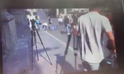 Tras balacera en Cuernavaca, sujeto roba celular de un herido