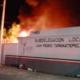 Migrantes, Incendio, Migración, Tapanatepec, Oaxaca, Detenidos, Fuego, Subdelegación, Detenidos,