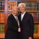 Sánchez Cordero, Olga Sánchez Cordero, Christine Lagarde, FMI, Secretaría de Gobernación, Homicidios, Feminicidios, World Forum, Foro, Reunión, Pregunta, México,