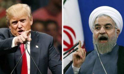 Donald Trump, Irán, Amenaza, No Amenaces, Estados Unidos, Embajada, Guerra, Misiles, militares,