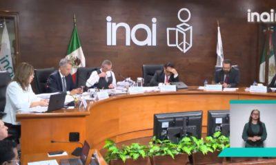 INAI también se deslinda de filtración de información de contratos de periodistas