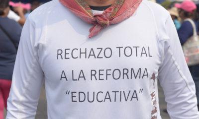 La marcha de la CNTE en los números de México y el Mundo