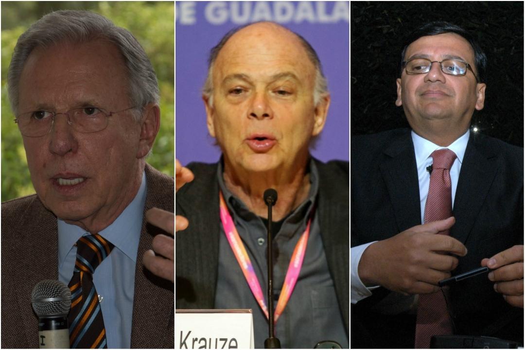 Por medio de sus empresas, Joaquín López-Dóriga, Federico Arreola y Enrique Krauze recibieron casi 550 millones de pesos en publicidad oficial y pagos por 'otros servicios' durante el sexenio de Enrique Peña Nieto.