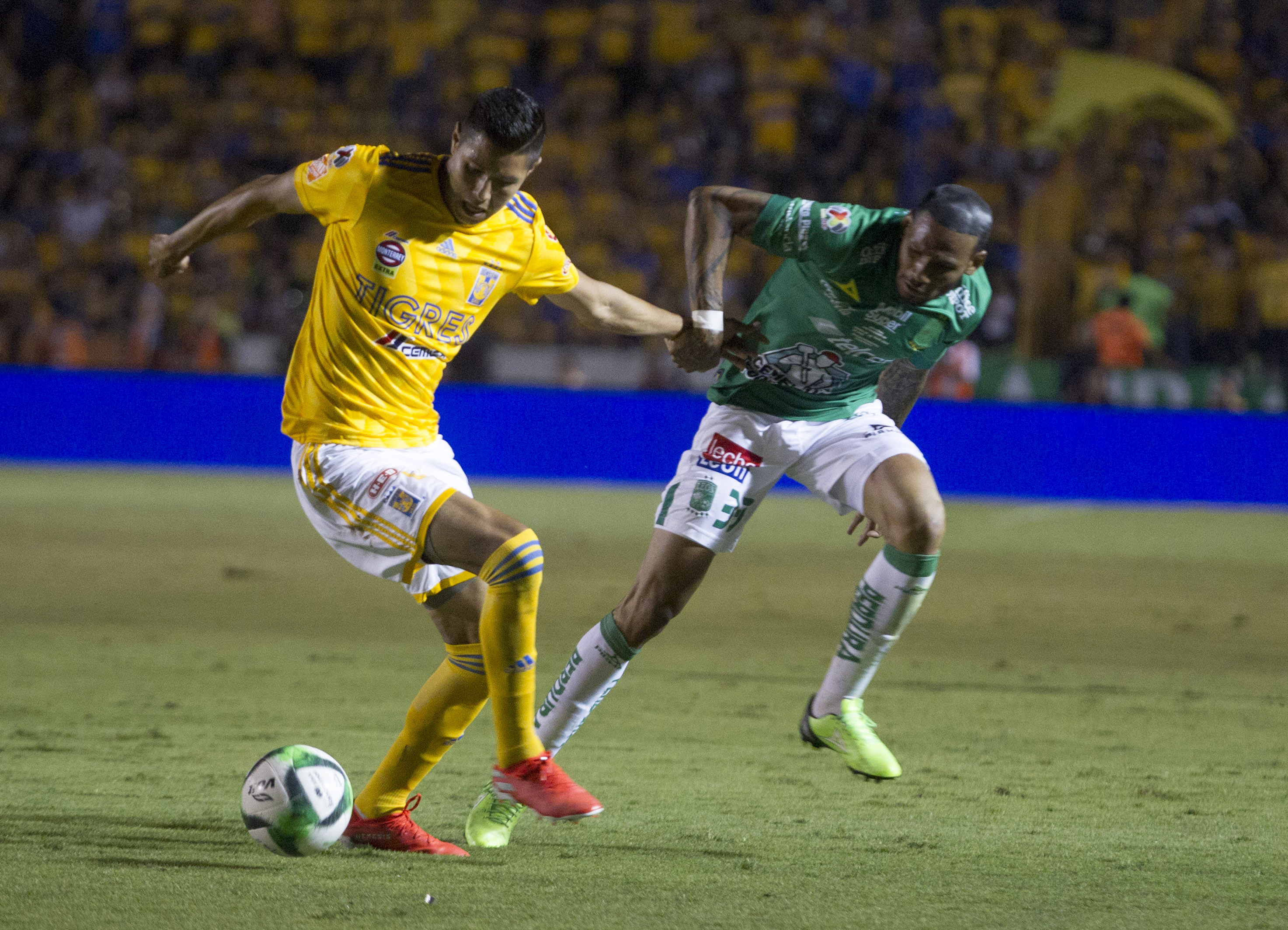 Final clausura 2019 Liga MX León vs Tigres/ La Hoguera