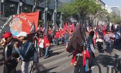 Marchas Día del Trabajo SITUAM SME CFE SUTERM CTM CNTE