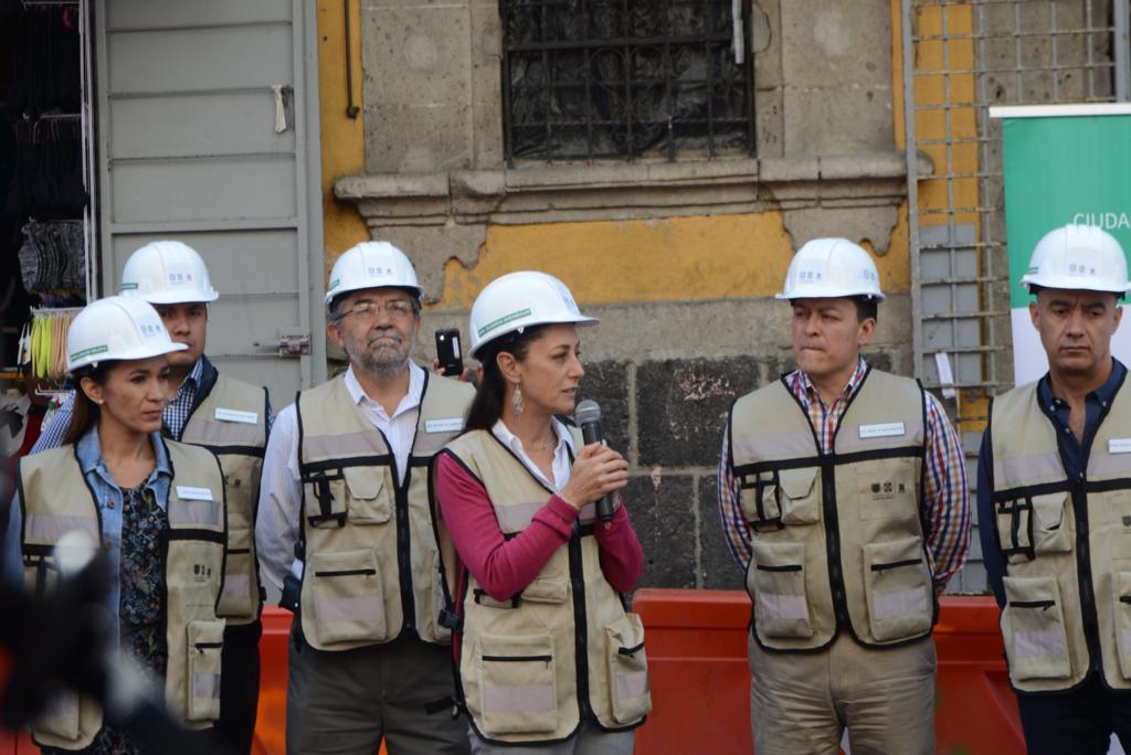 Claudia Sheinbaum CDMX Centro Histórico